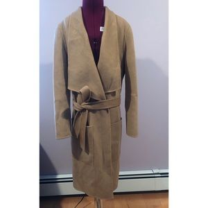 Joseph double faced wool/cashmere trench NWOT